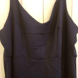 Eloquii Dresses - Eloquii long navy dress